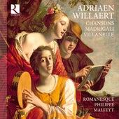 Willaert: Chansons, Madrigali & Villanelle von Various Artists