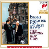 The Complete Brahms Sonatas For Violin and Piano                               & Scherzo For Violin and Piano de Isaac Stern; Yefim Bronfman