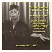 Icons of German Cinema: Zarah Leander in Stockholm, Vol. 2 (1930-1952) by Zarah Leander (1)