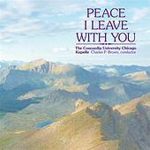 Peace I Leave With You von Various Artists