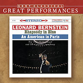 Gershwin: Rhapsody in Blue; An American in Paris; Concerto F [Great Performances] de Leonard Bernstein