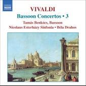 VIVALDI: Bassoon Concertos, Vol. 3 by Tamas Benkocs
