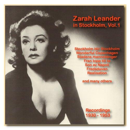 Icons of German Cinema: Zarah Leander in Stockholm, Vol. 1 (1930-1953) by Zarah Leander (1)