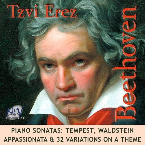 Beethoven Sonatas: Tempest, Waldstein, Appassionata & 32 Variations On a Theme by Tzvi Erez