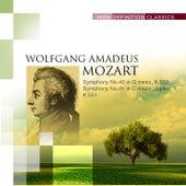 Symphony No.40 in G minor, K.550; Symphony No.41 in C major, Jupiter, K.551 by Various Artists
