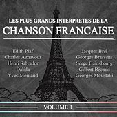 Les plus grands interprètes de la chanson française, Vol. 1 (20 succès) de Various Artists