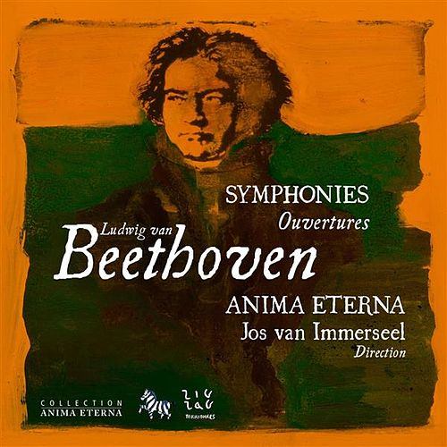 Beethoven: Symphonies & Ouvertures, Vol. 2 by Anima Eterna Orchestra