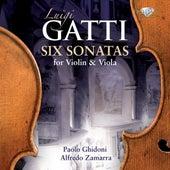 Gatti: Six Sonatas for Violin & Viola de Paolo Ghidoni