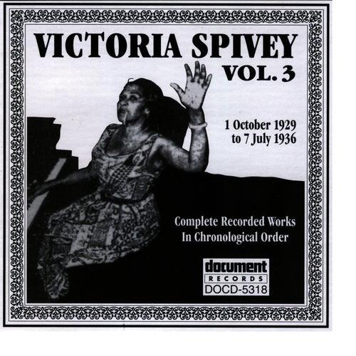 Victoria Spivey Vol. 3 1929-1936 by Victoria Spivey