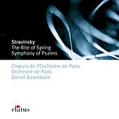 Stravinsky: Le Sacre du printemps (-  Elatus) by Daniel Barenboim