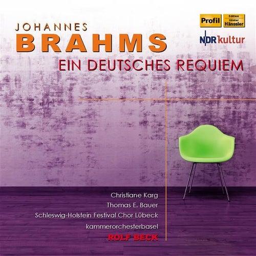 Brahms: Ein deutsches Requiem by Christiane Karg