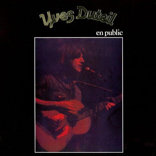 En public (1978) de Yves Duteil