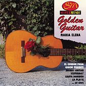 Golden Guitar by Maria Elena