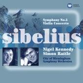 Sibelius: Symphony No. 5 & Violin Concerto by Nigel Kennedy