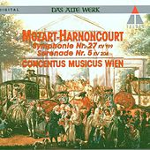 Mozart : Symphony No.27 & Serenade No.5 by Nikolaus Harnoncourt