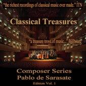 Classical Treasures Composer Series: Pablo de Sarasate, Vol. 1 by Various Artists