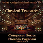 Classical Treasure Composer Series: Niccolo Paganini, Vol. 1 by Various Artists