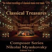 Classical Treasures Composer Series: Nikolai Myaskovsky, Vol. 1 by Various Artists