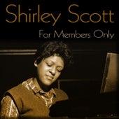For Members Only de Shirley Scott