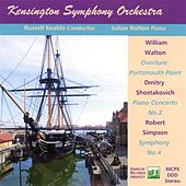 KSO plays Walton, Shostakovich and Simpson by Various Artists