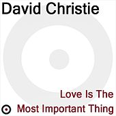 Love Is The Most Important Thing de David Christie