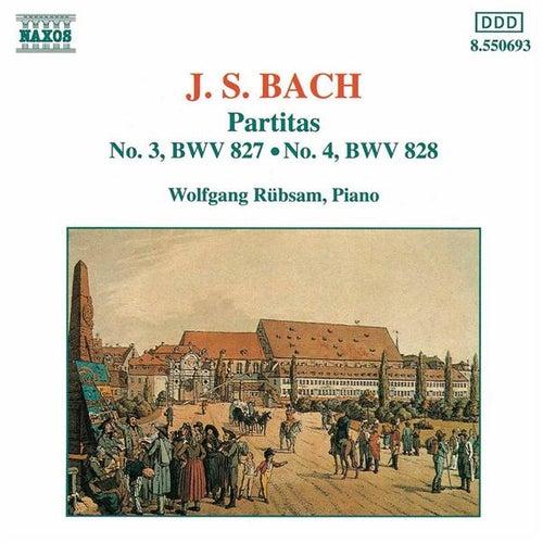 Partitas Nos. 3 and 4 by Johann Sebastian Bach