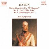 String Quartets, Op. 33, Nos. 1, 2 and 5 by Franz Joseph Haydn