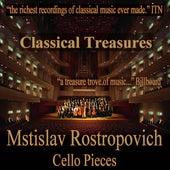 Classical Treasures: Mstislav Rostropovich - Cello Pieces de Various Artists