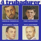 4 trubadurer von Blandade Artister