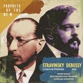 Stravinsky: Le Sacre du Printemps - Debussy: Jeux by Pierre Boulez