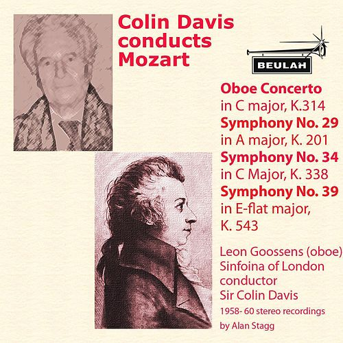 Colin Davis Conducts Mozart by Sinfonia Of London