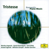 Tristesse: Romantic Piano Music von Various Artists
