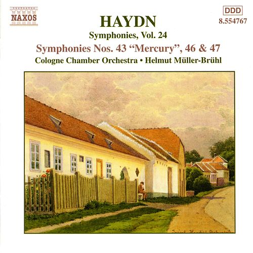 Symphonies Nos. 43, 46 and 47 by Franz Joseph Haydn