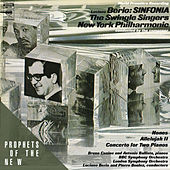 Berio: Sinfonia / Concerto for Two Pianos de Luciano Berio