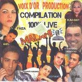 Compilation Raï 100% Live von Various Artists