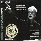 Beethoven: Symphonies 1 & 6 - Violin Concerto, Op. 61 by Various Artists