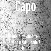 This Aint What You Want (feat. Homie & Majuh) von Capo