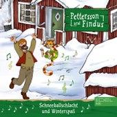 Schneeballschlacht und Winterspaß von Pettersson und Findus