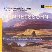 Mendelssohn/Schumann: Symphonies 3 & 4 by Roger Norrington
