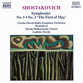 Symphonies Nos. 1 and 3 by Dmitri Shostakovich