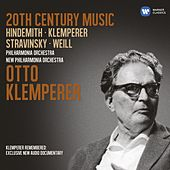20th Century Music: Hindemith, Klemperer, Stravinsky, Weill by Various Artists