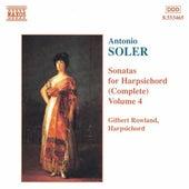 Sonatas For Harpsichord (Complete) Vol. 4 by Antonio Soler