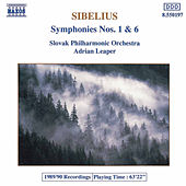 Symphonies Nos. 1 and 6 by Jean Sibelius