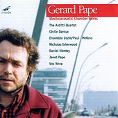Electroacoustic Chamber Music by Gerard Pape