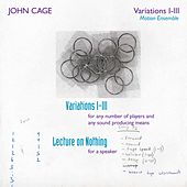 Variations 1, 2 & 3 by John Cage