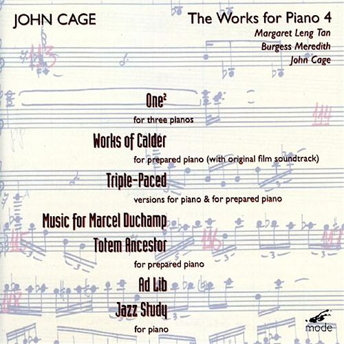 Piano Works Volume 4 by John Cage
