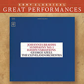 Brahms: Symphony No. 1; Variations on a Theme by Haydn; Five Hungarian Dances [Great Performances] by Various Artists