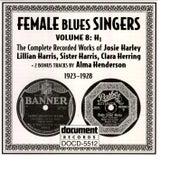 Female Blues Singers Vol. 8 H (1923-1928) de Various Artists