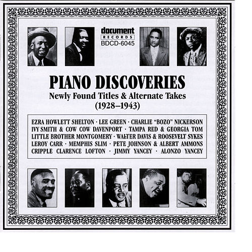 Piano Discoveries (1928-1943) by Various Artists