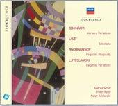 Dohnanyi: Nursery Variations; Liszt: Totentanz; Rachmaninov: Paganini Rhapsody de Various Artists